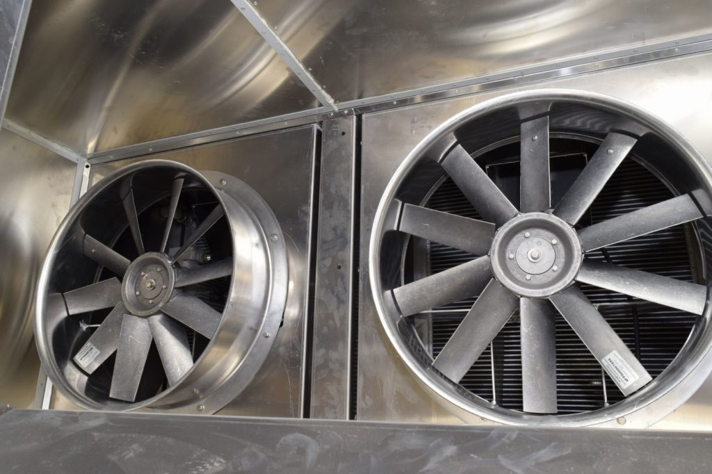 High power and flow dehydrator fans