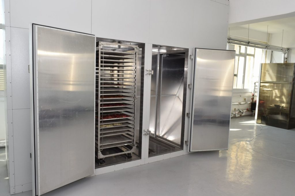 Fruit and vegetable dehydrators with carts model FD-1x2