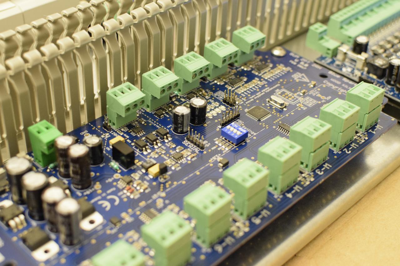 Dehydrator electronic board