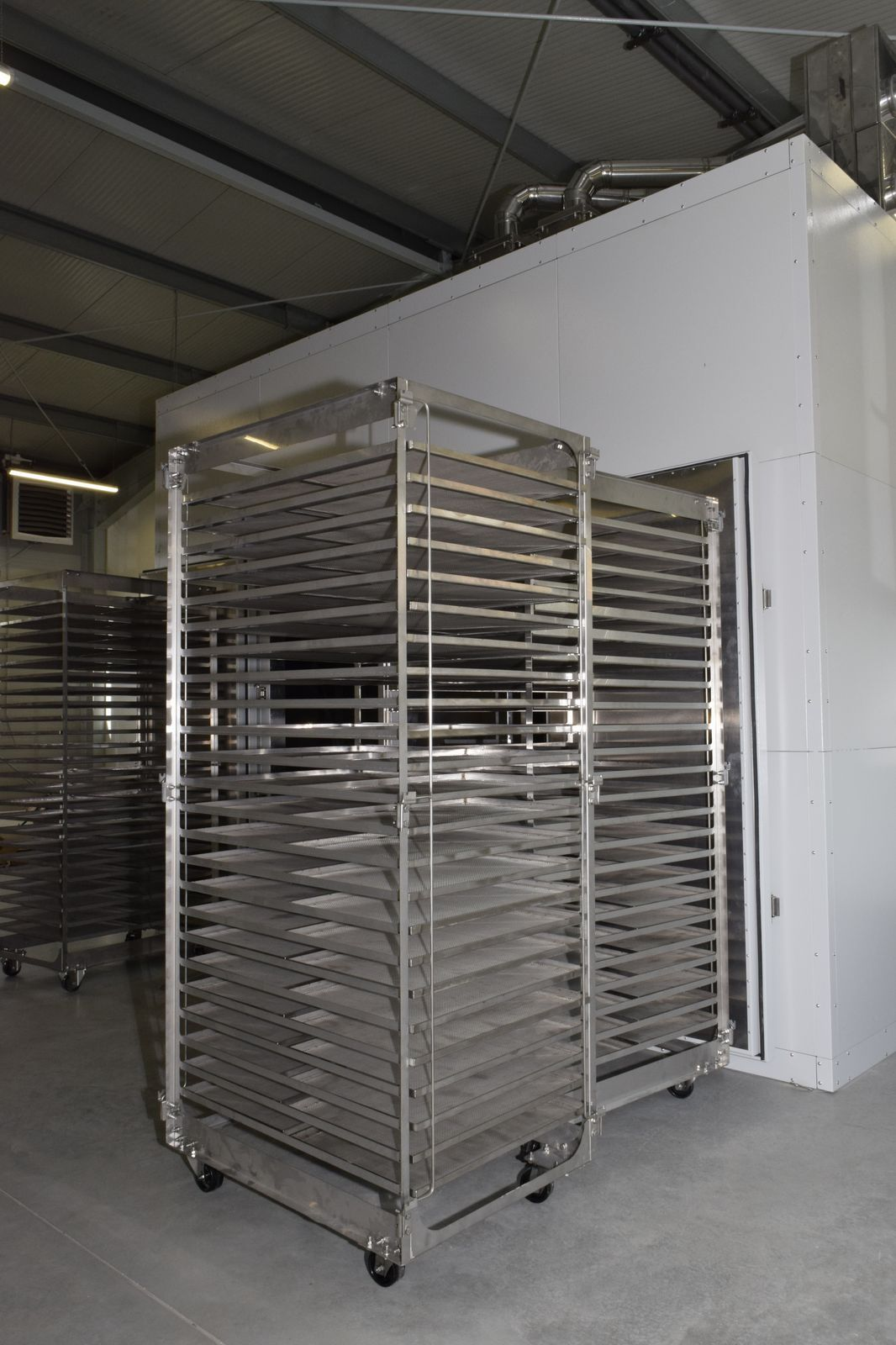 Stainless steel dehydrator carts