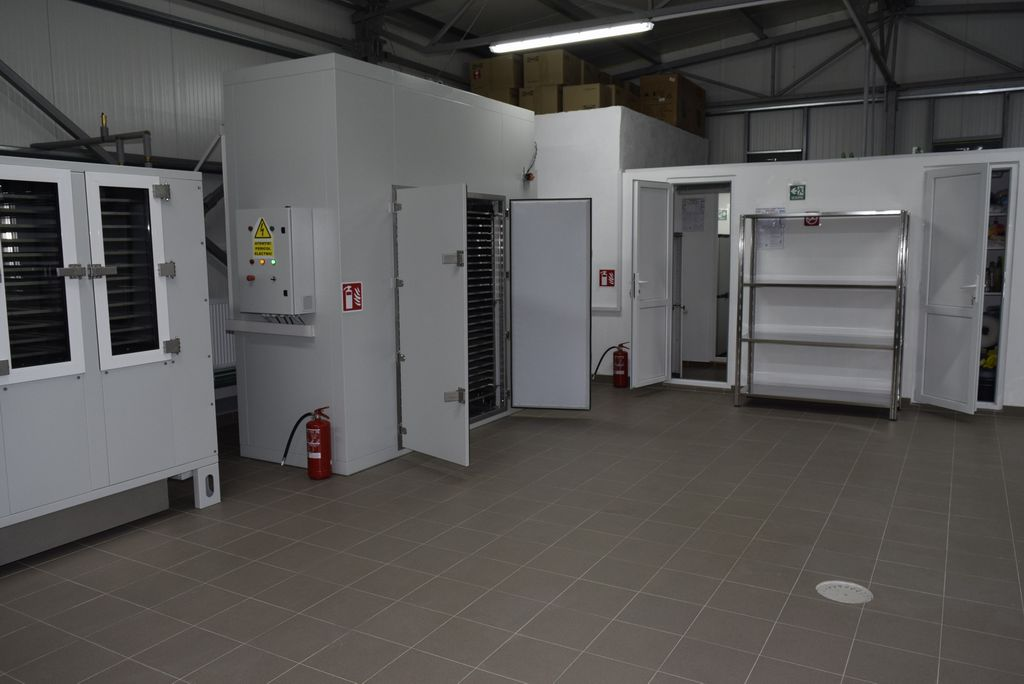 Dehydrators area